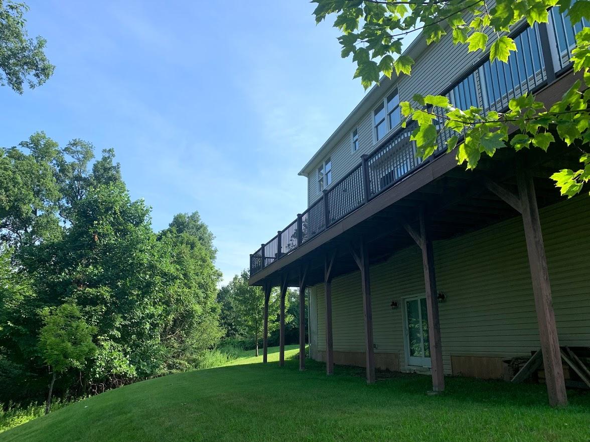 Trex Deck Side view