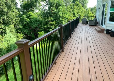 Large Luxury Deck with Trex and Lights in Wayne, NJ